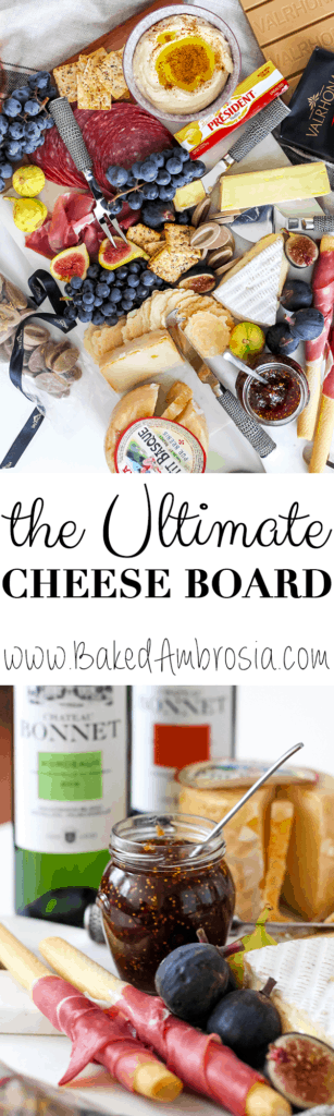 The Ultimate Cheese Board for Fall Entertaining