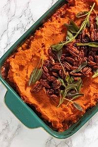 Healthy Sweet Potato Turkey Shepherd's Pie