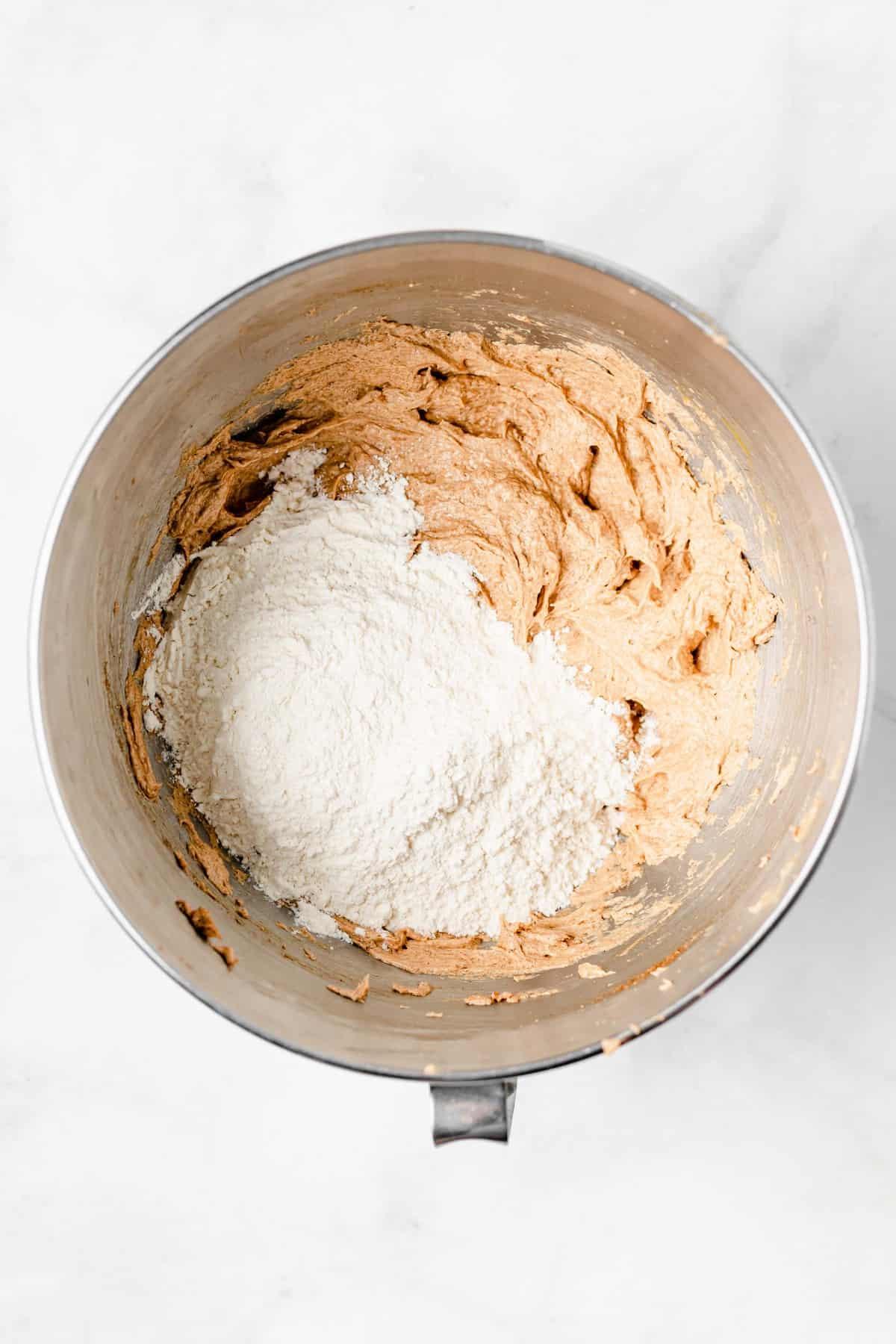 pumpkin muffin batter