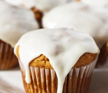 The BEST Bakery Style Pumpkin Muffins
