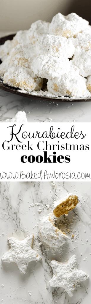 Kourabiedes – Greek Christmas Cookies