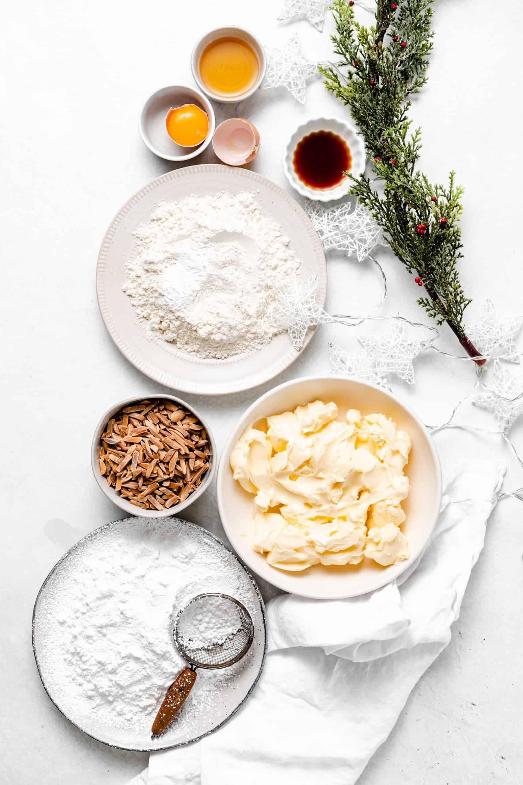 kourabiedes ingredients