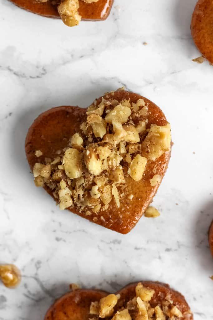 Melomakarona - Greek Christmas Honey Cookies