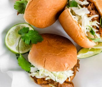 Pineapple Chipotle Short Rib Sliders