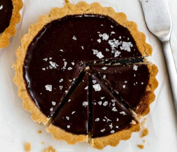 Mini Dark Chocolate + Sea Salt Tarts