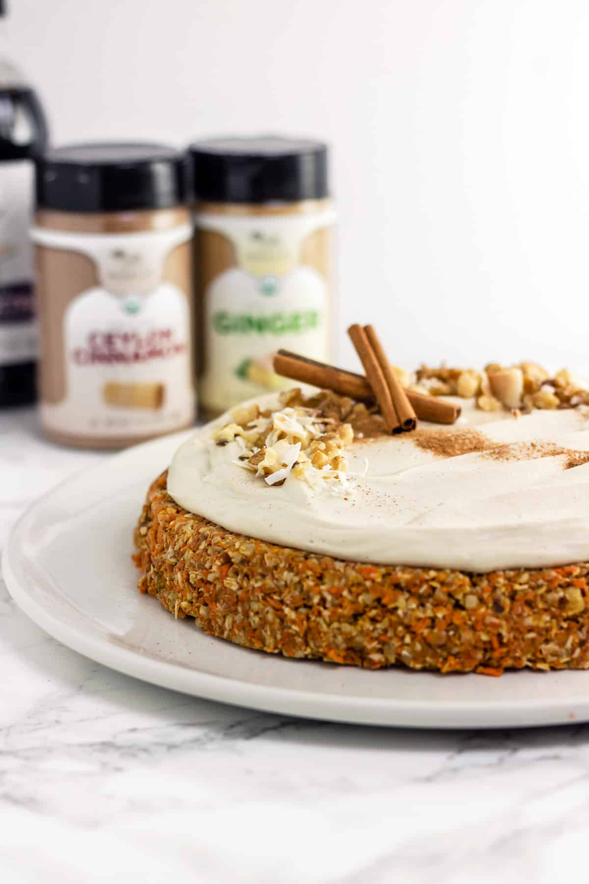 Not Too Sweet Cream Cheese Frosting For Carrot Cake