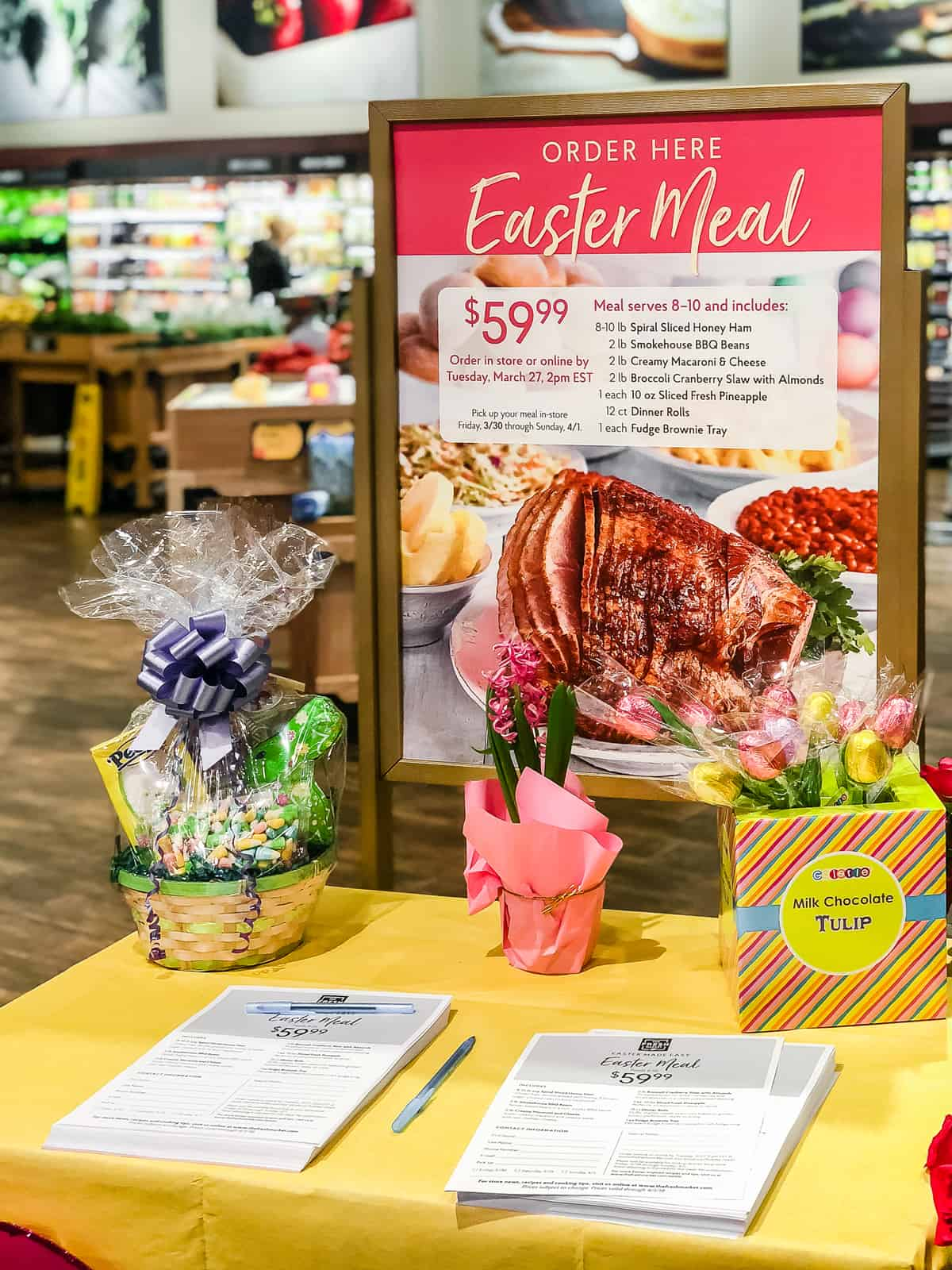 Roasted Chipotle Pineapple Ham + a Complete Easter Meal with The Fresh Market