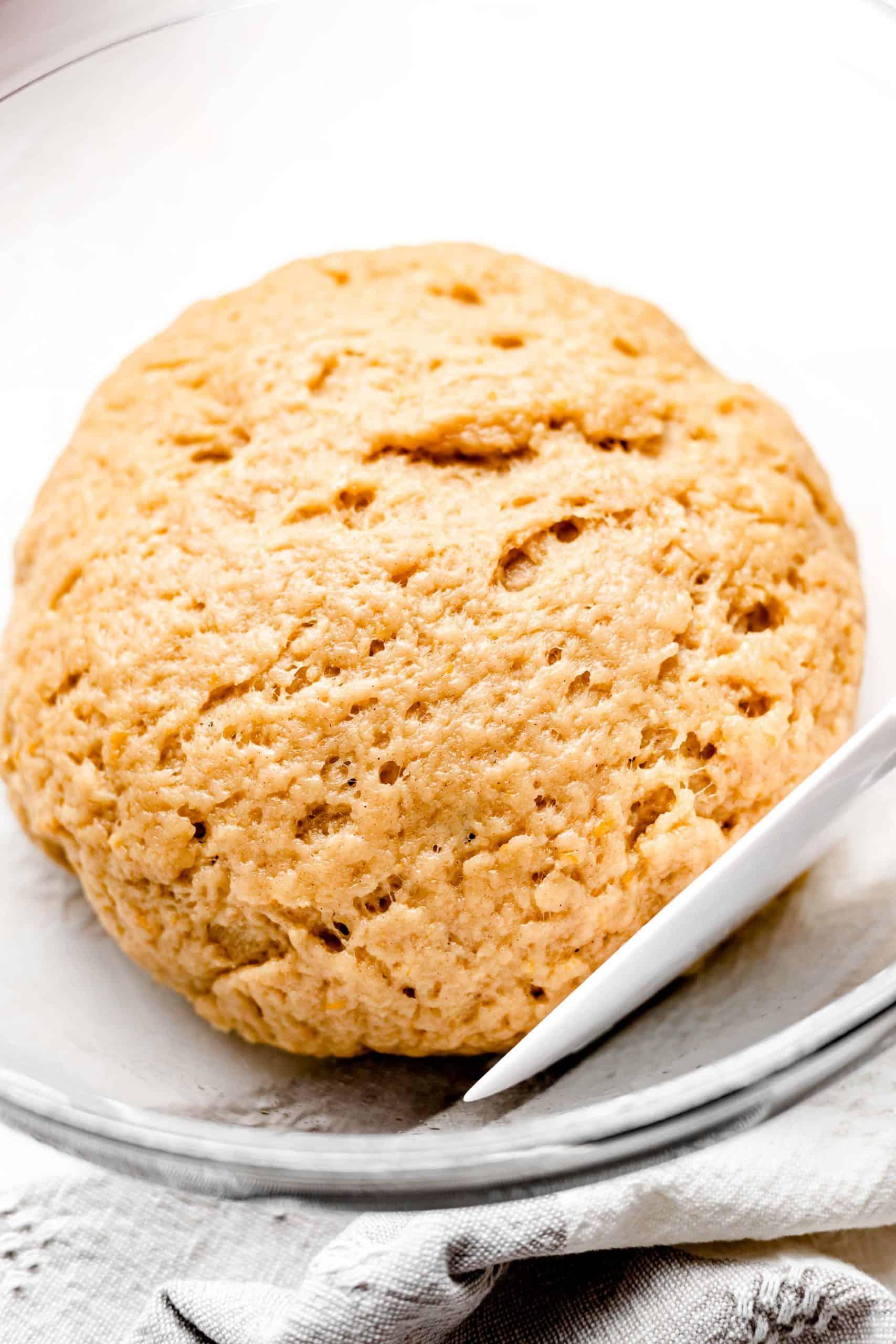 Greek olive oil cookie dough