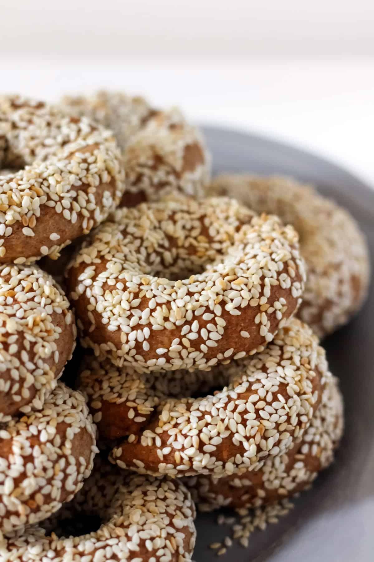 Vegan Greek Olive Oil and Orange Cookies