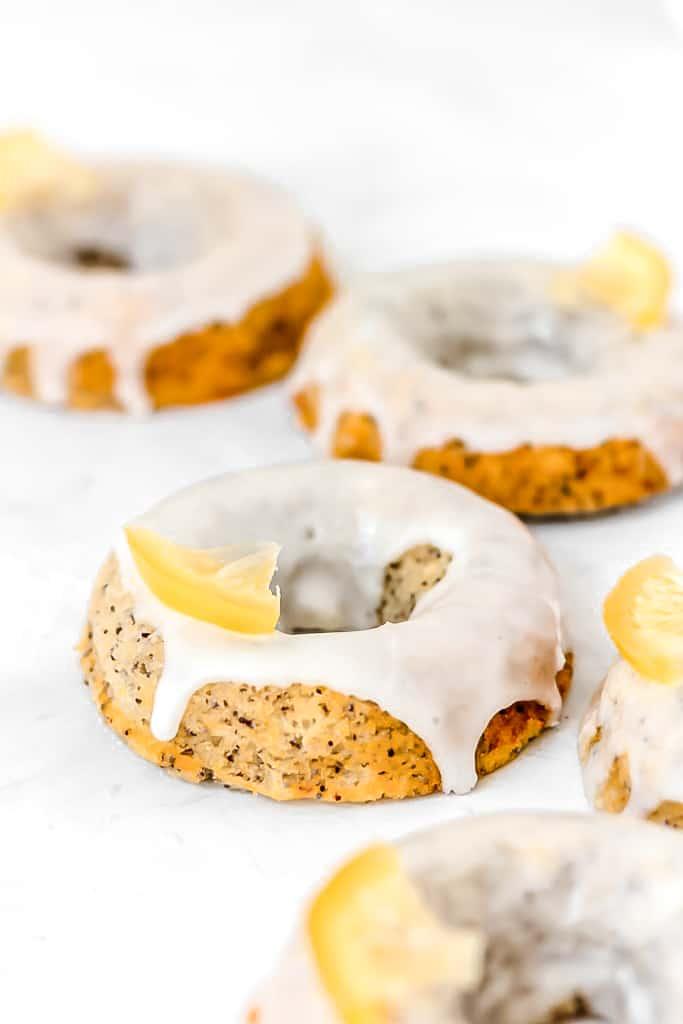 Paleo Lemon Poppy Seed Donuts