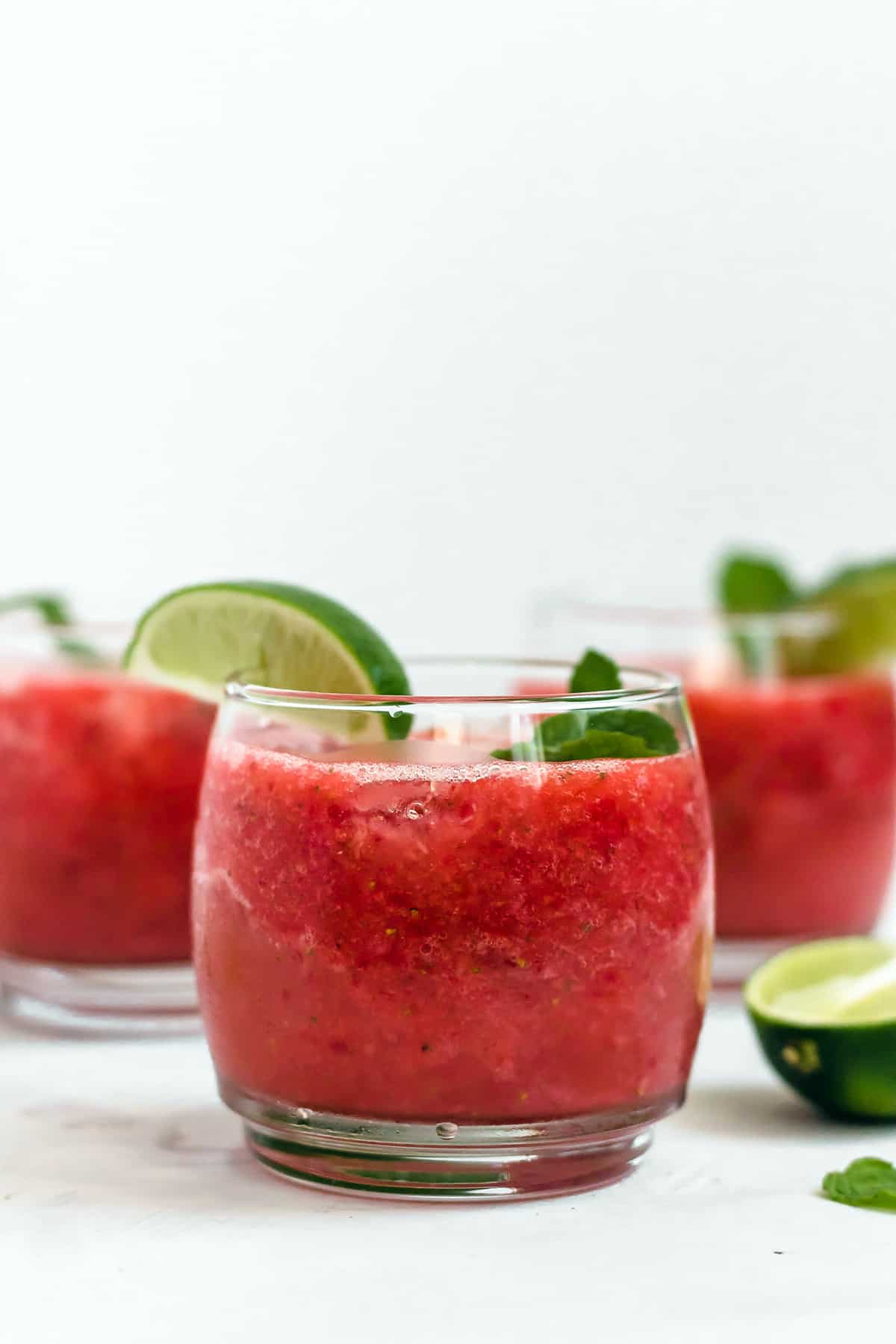 Strawberry Coconut Water Tequila Smash