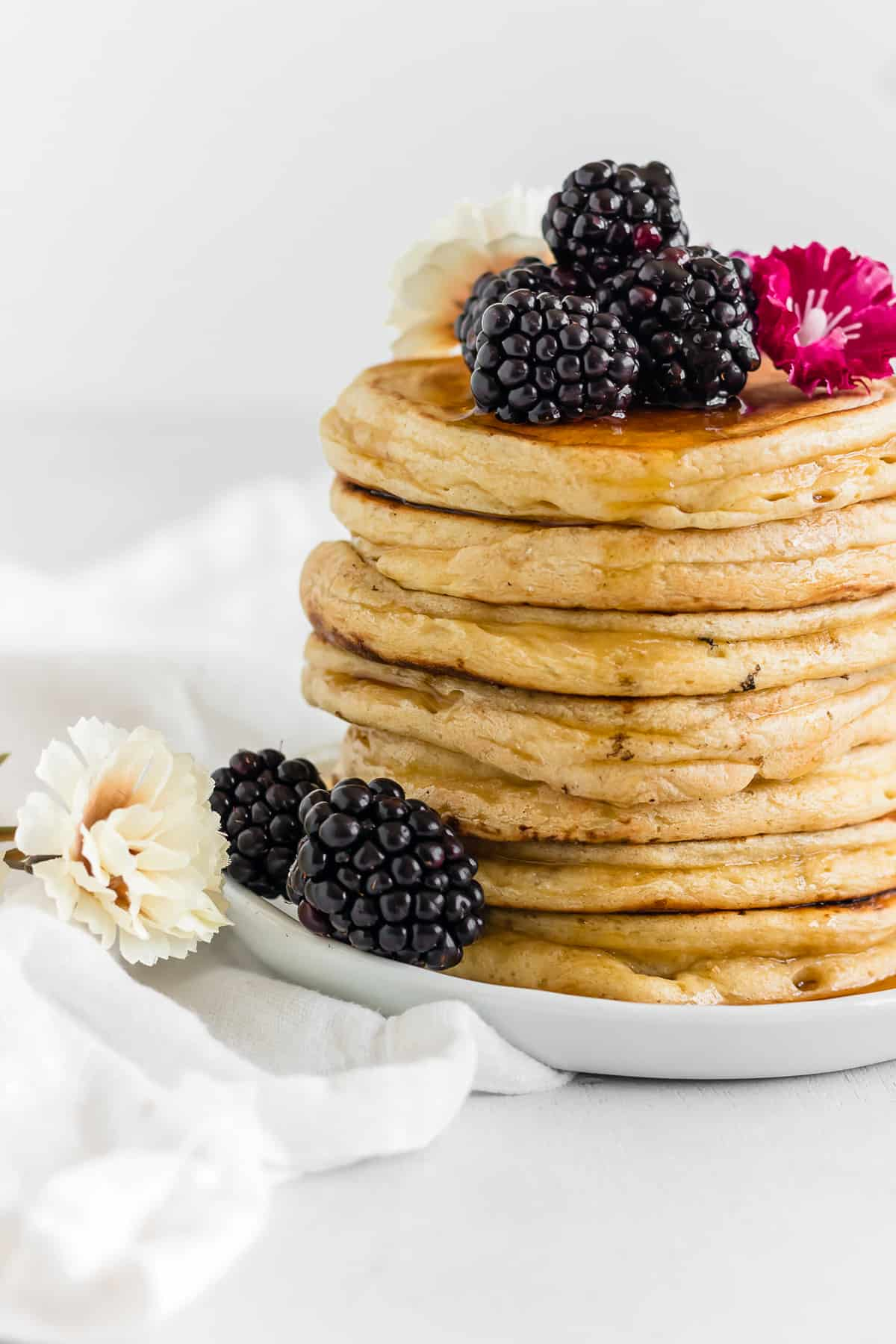 Fluffy Cottage Cheese Protein Pancakes