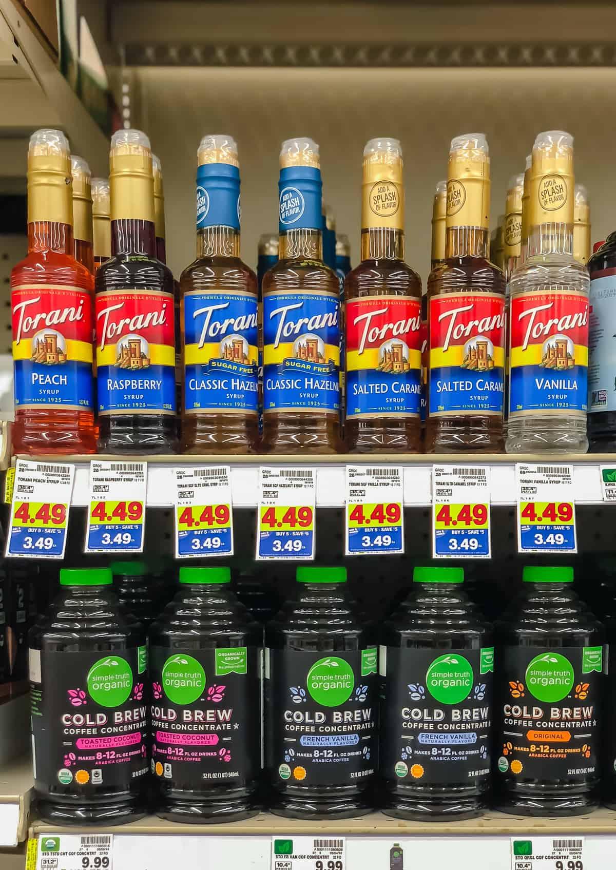 Torani Syrup Kroger