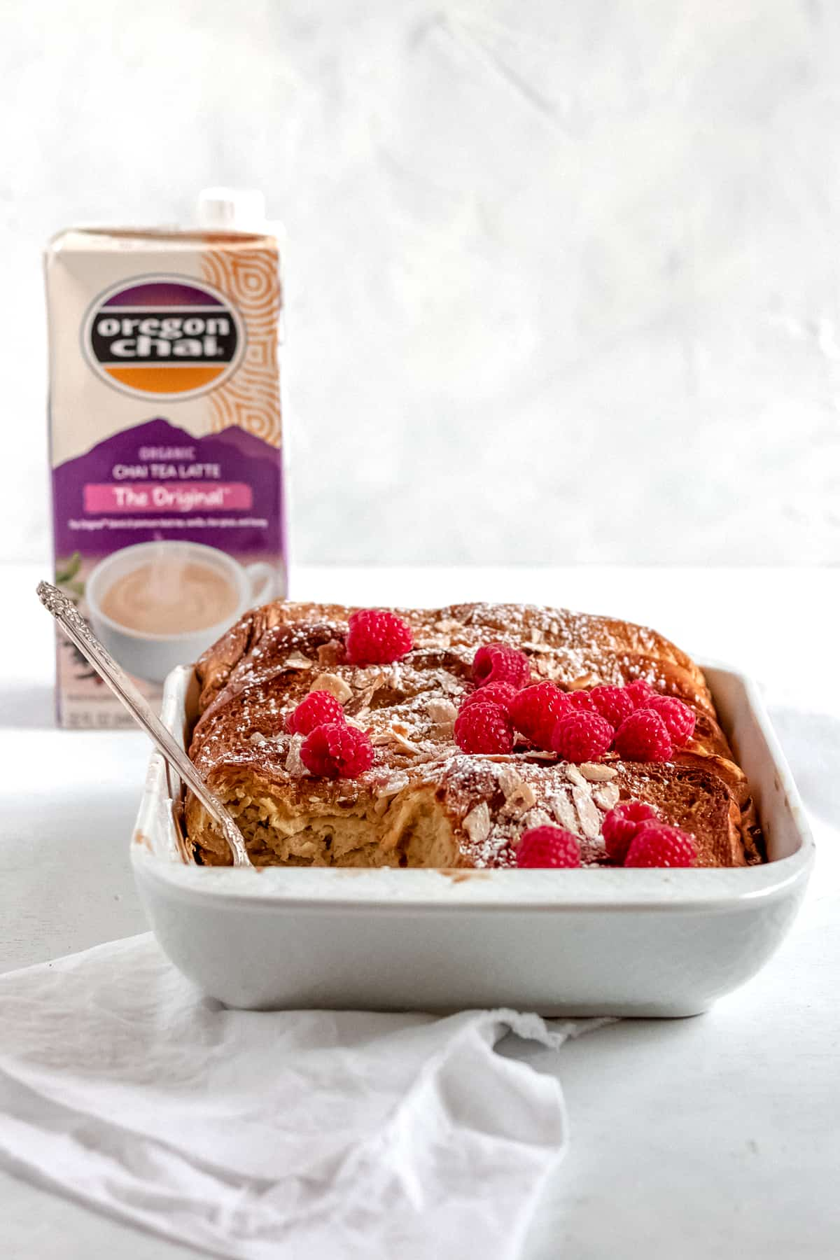 Chai Spiced Baked French Toast