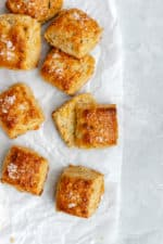 Fontina Chive Biscuits
