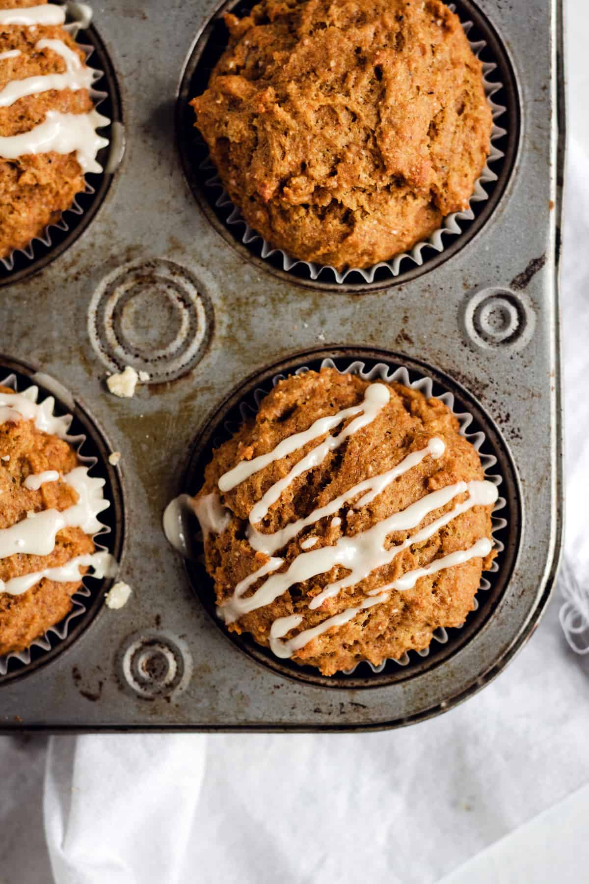 Healthy Whole Wheat Pumpkin Muffins