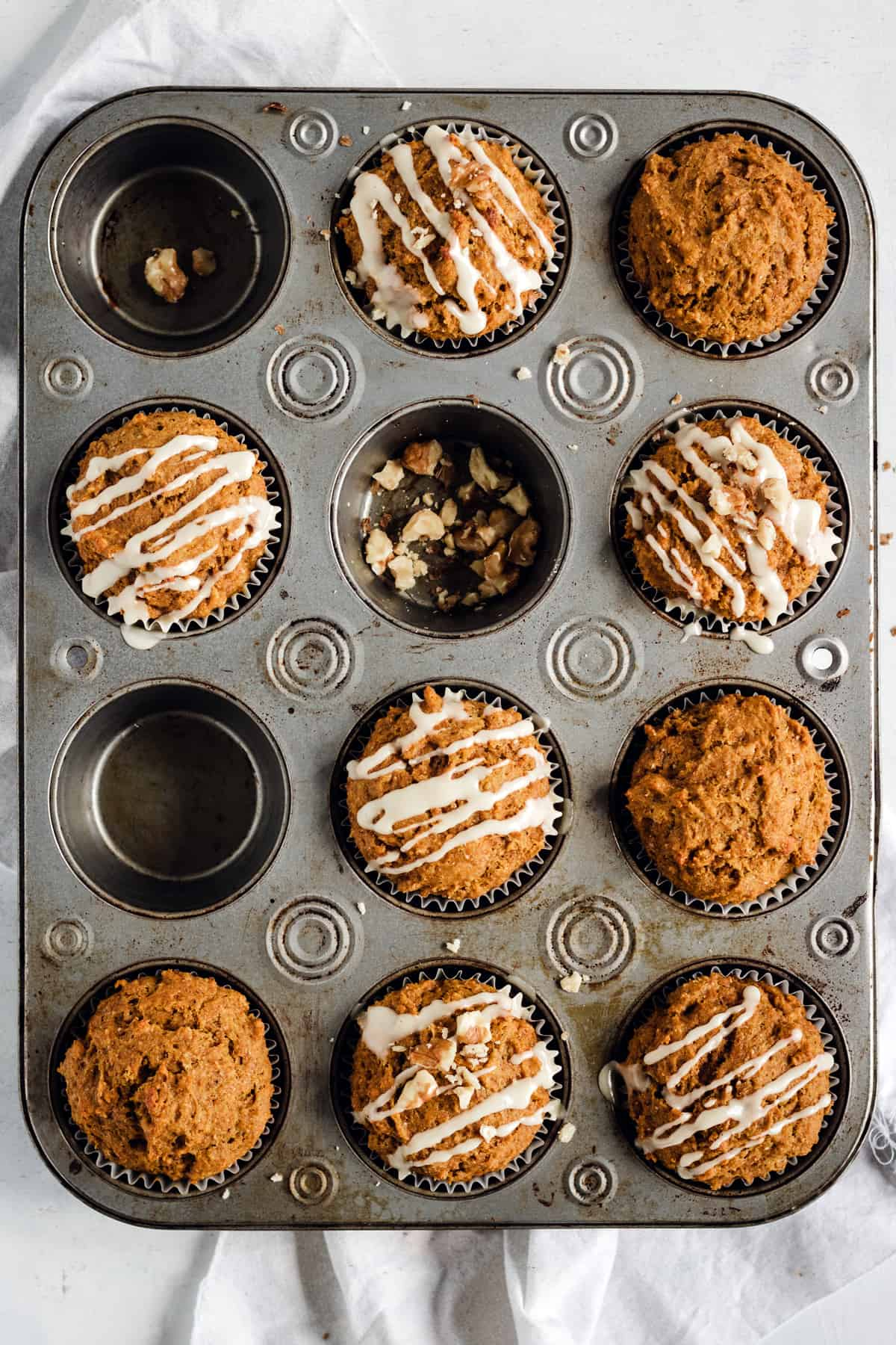 Pan Healthy Whole Wheat Pumpkin Muffins