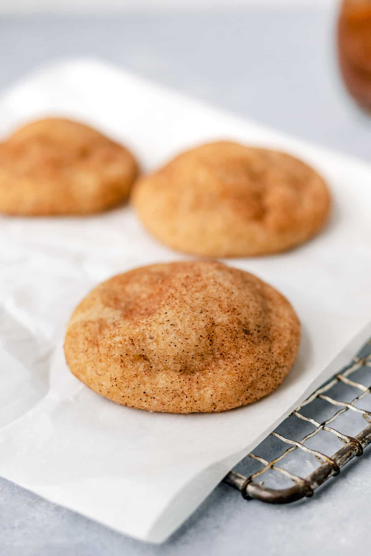 Pumpkin Butter Stuffed Snickerdoodles