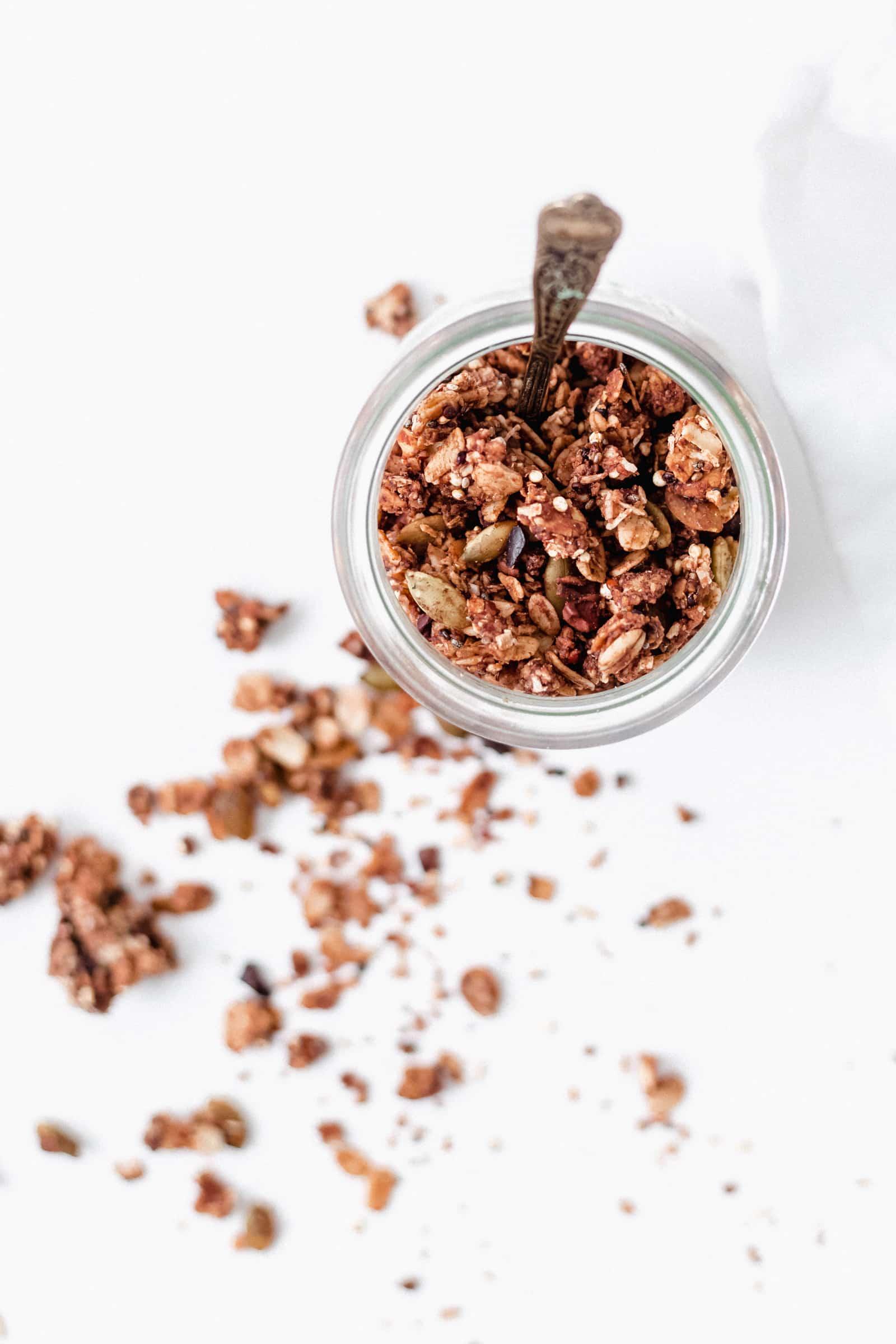 Superfood Chocolate Espresso Granola Recipe