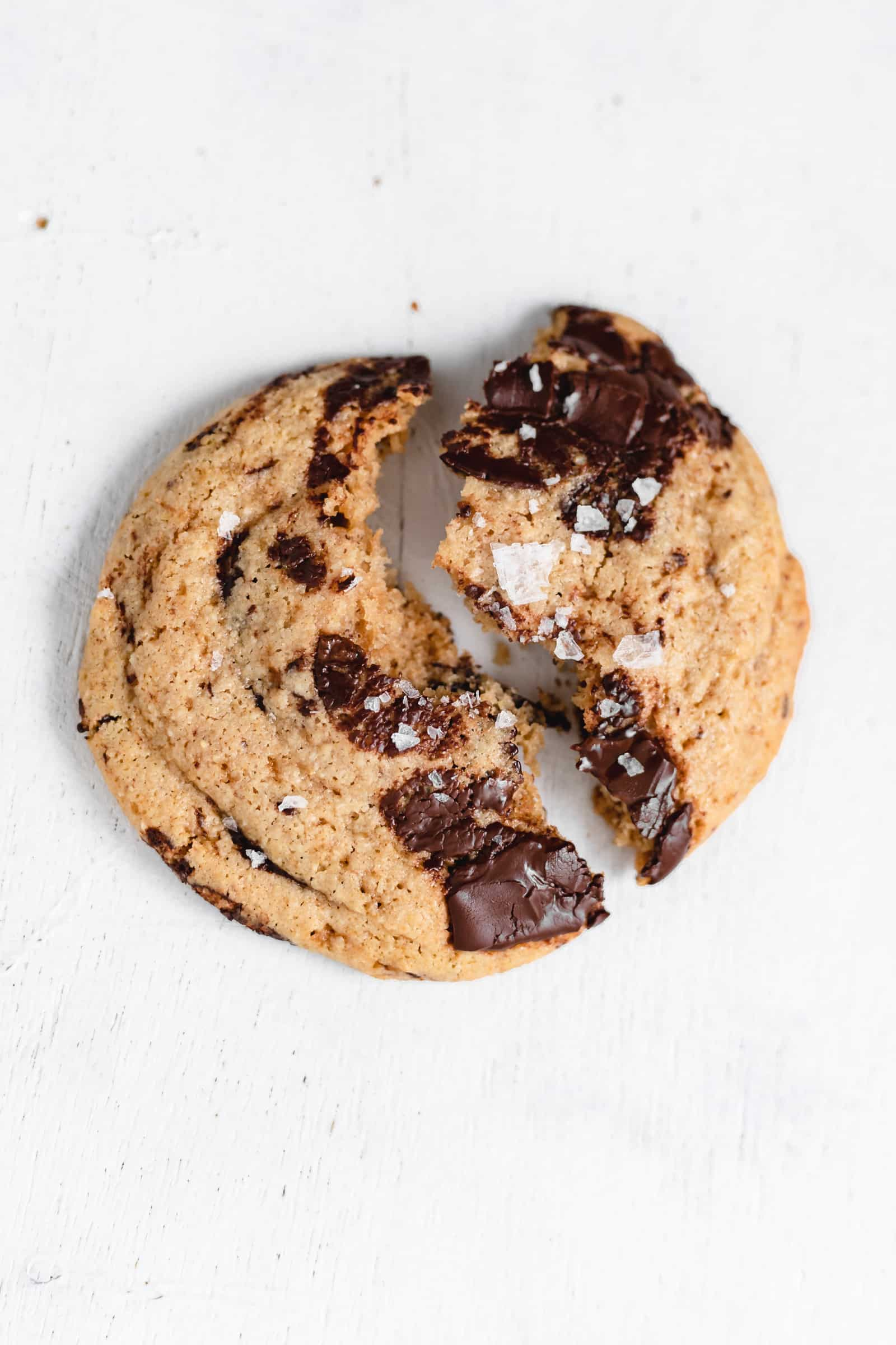 The BEST EVER healthy Chocolate Chip Cookie Recipe