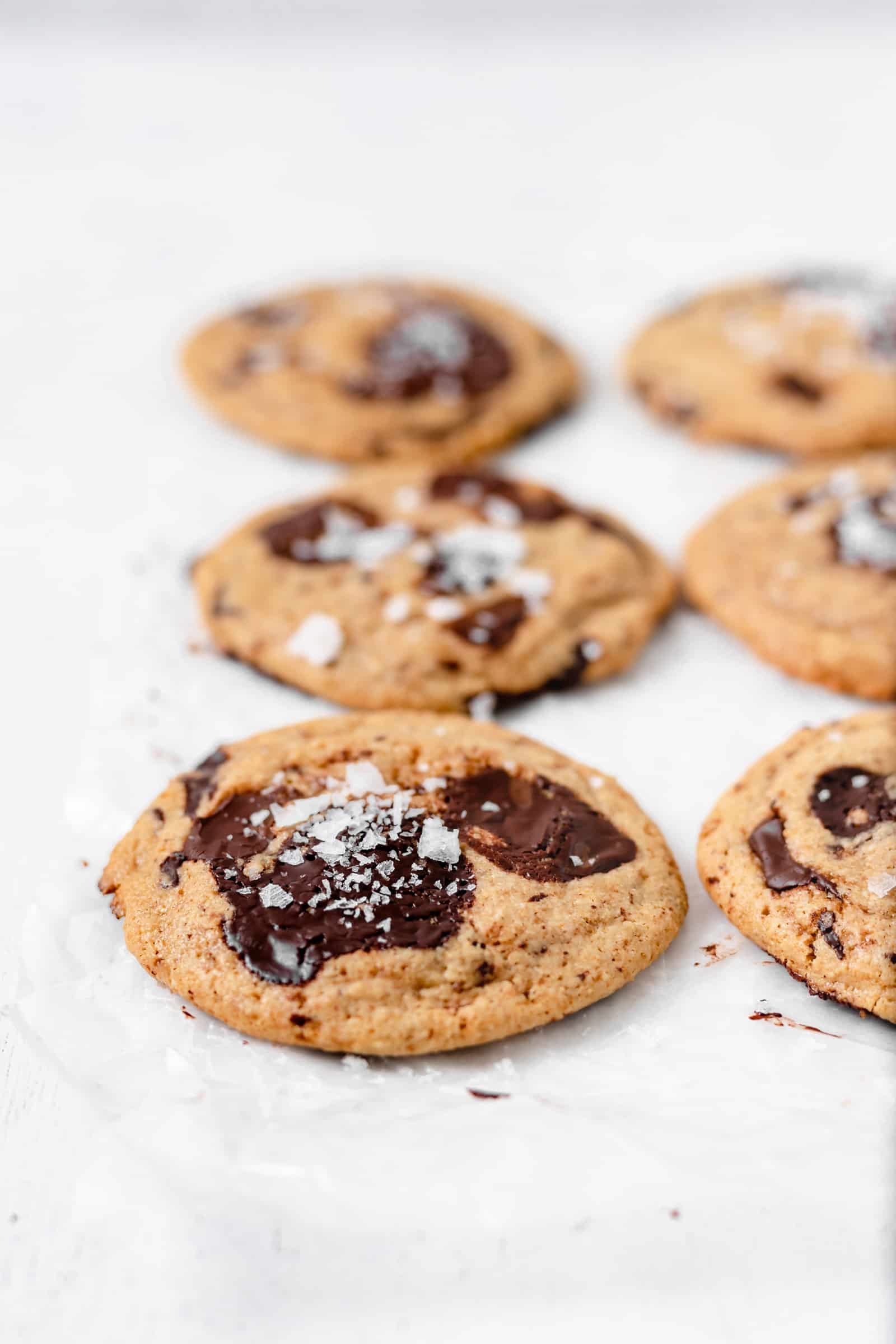 The BEST Gluten Free Chewy Chocolate Chip Cookie Recipe