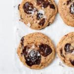 Chew Chocolate Chip Cookies - Gluten Free, Grain Free, Dairy Free, Refined Sugar Free
