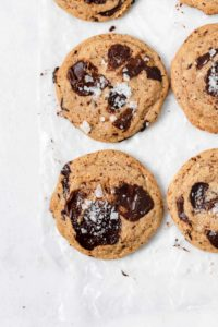Chew Chocolate Chip Cookies - Gluten Free, Grain Free, Dairy Free, Refined Sugar Free