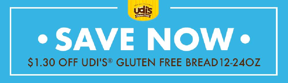 Udi's Gluten Free Coupon