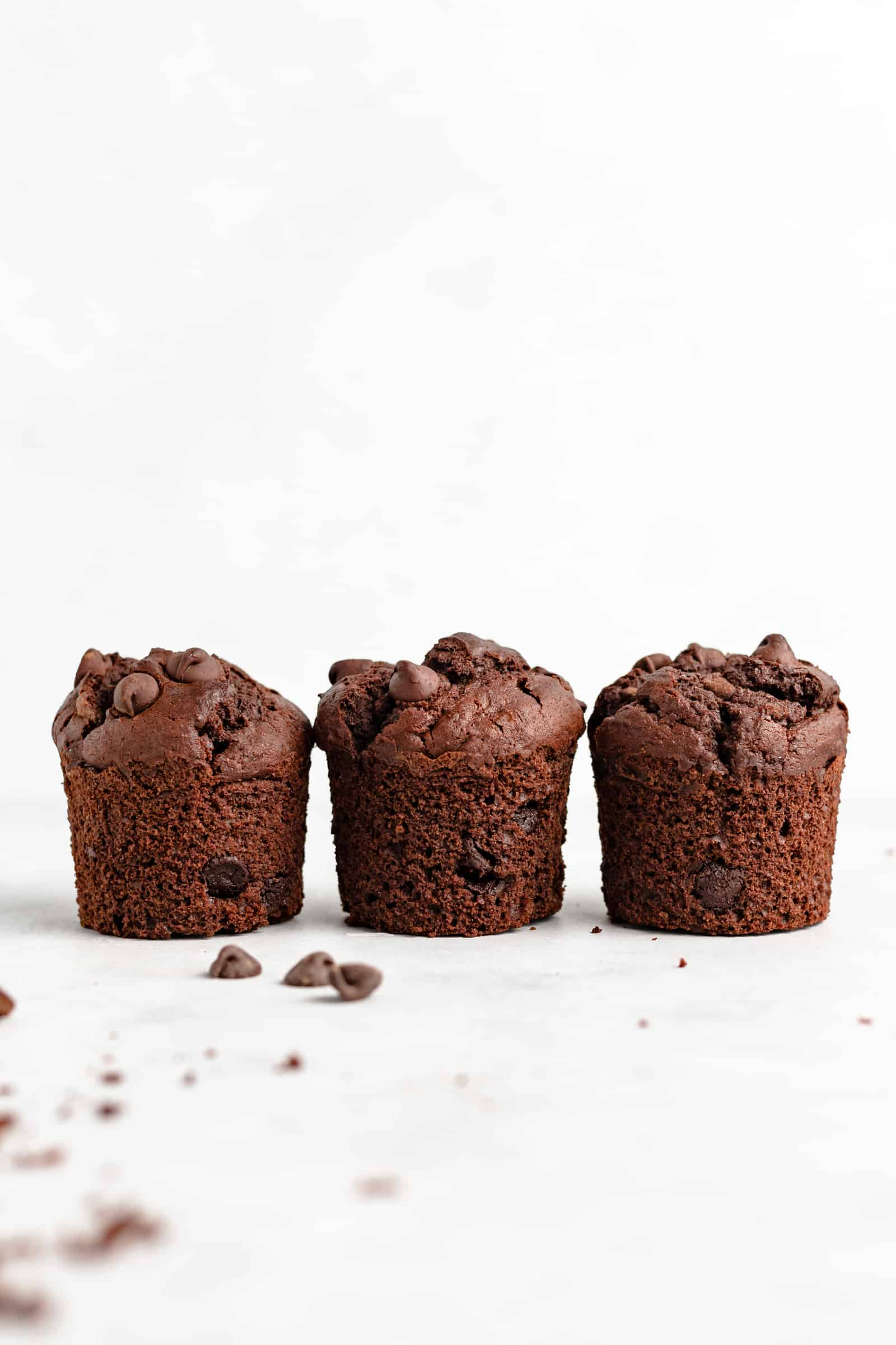 Triple Chocolate Muffins - the ONLY muffin recipe you need!