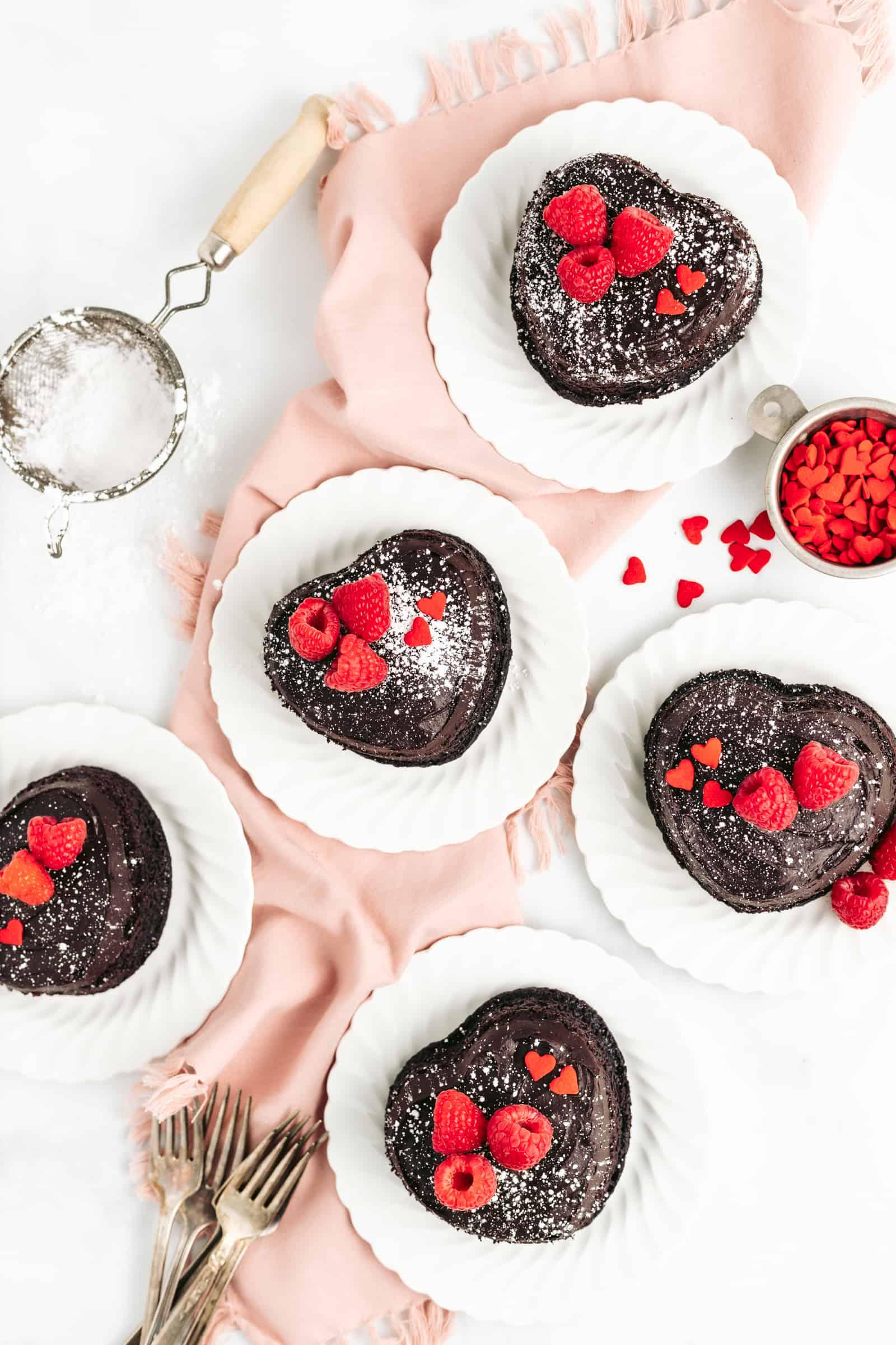 Valentine's Day Chocolate Cake Recipe