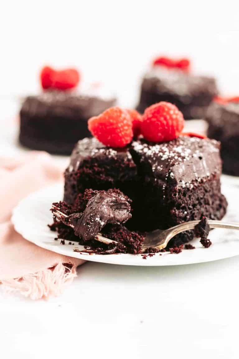 Rich and Moist Chocolate Cake with Fudge Frosting
