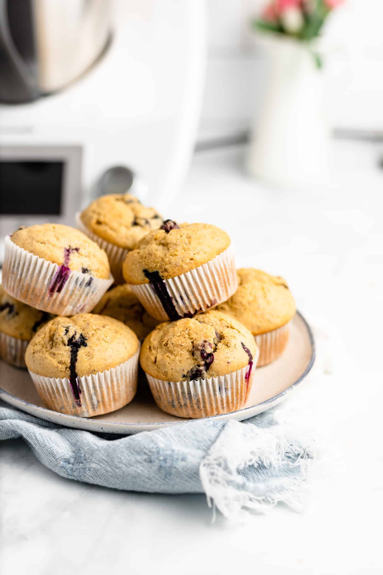 How to make Thermomix Blueberry Muffins