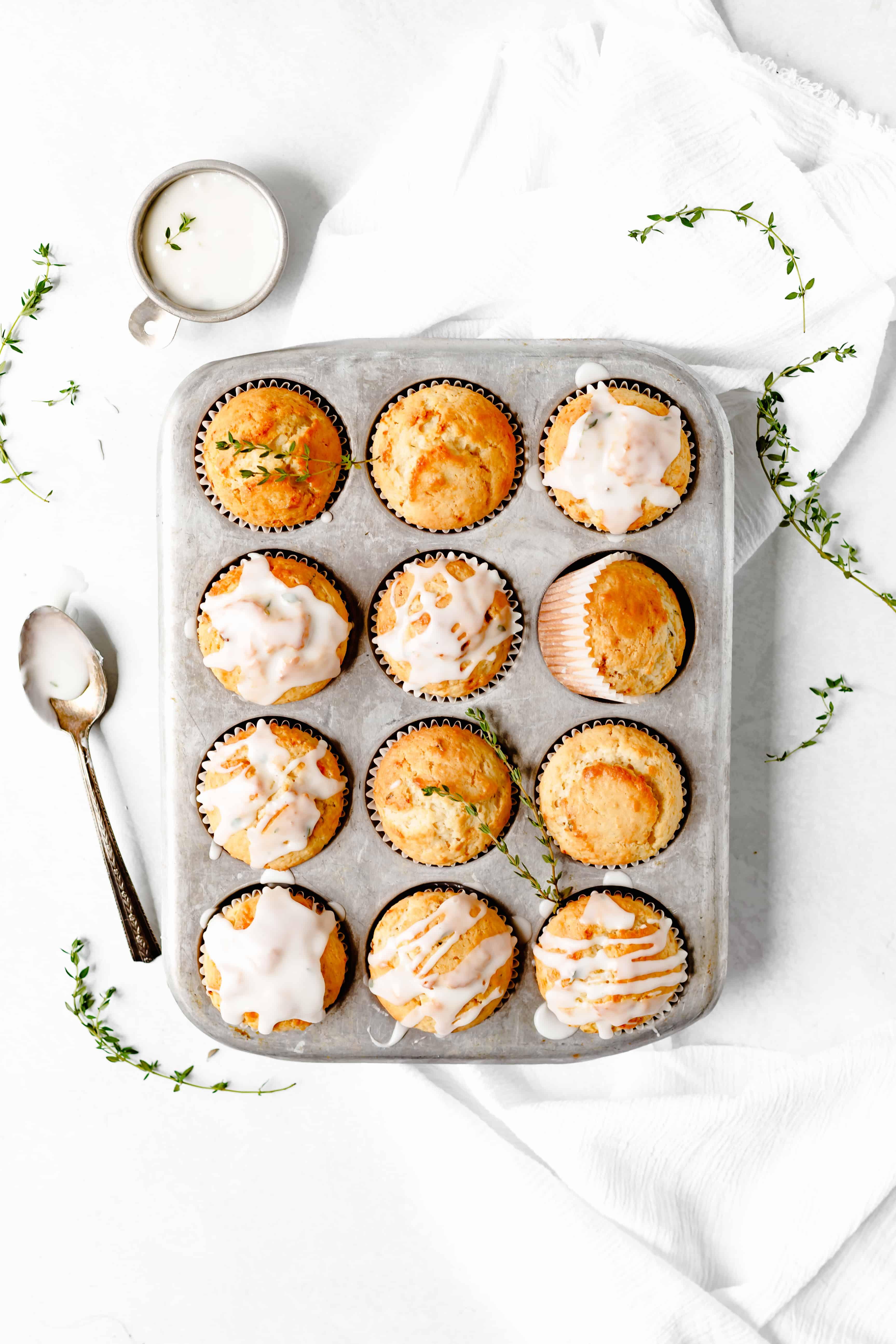 Lemon Thyme Muffin