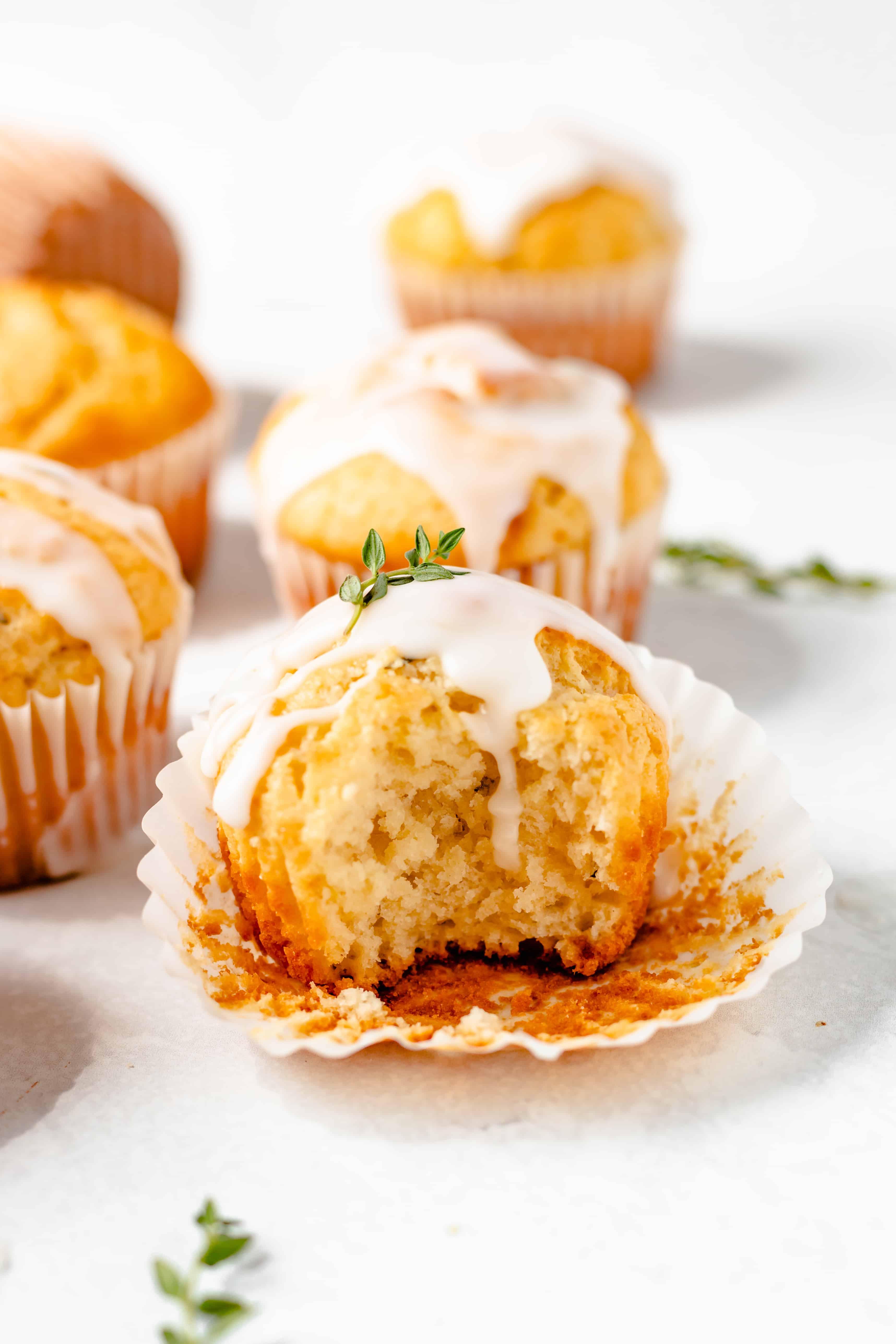 Lemon Thyme Muffins