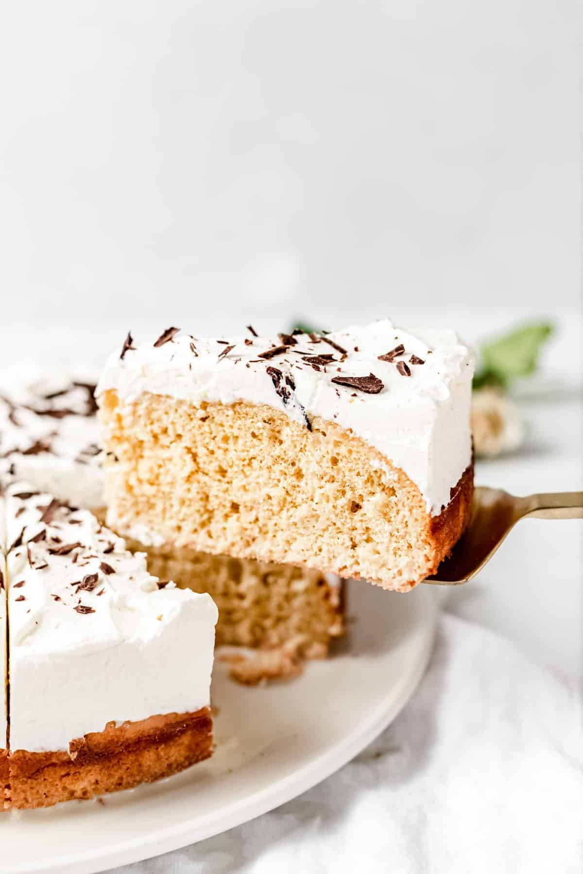 peanut butter tres leches cake