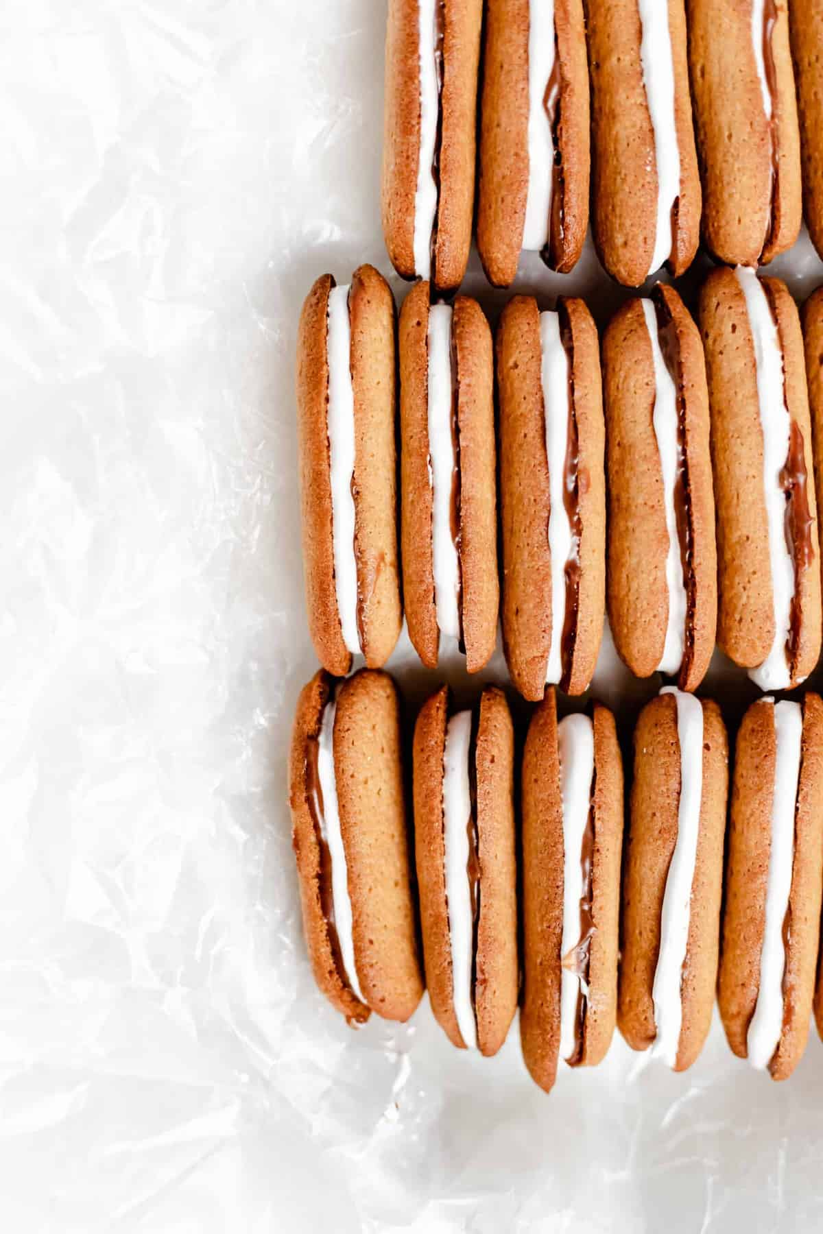 s'mores milano cookies