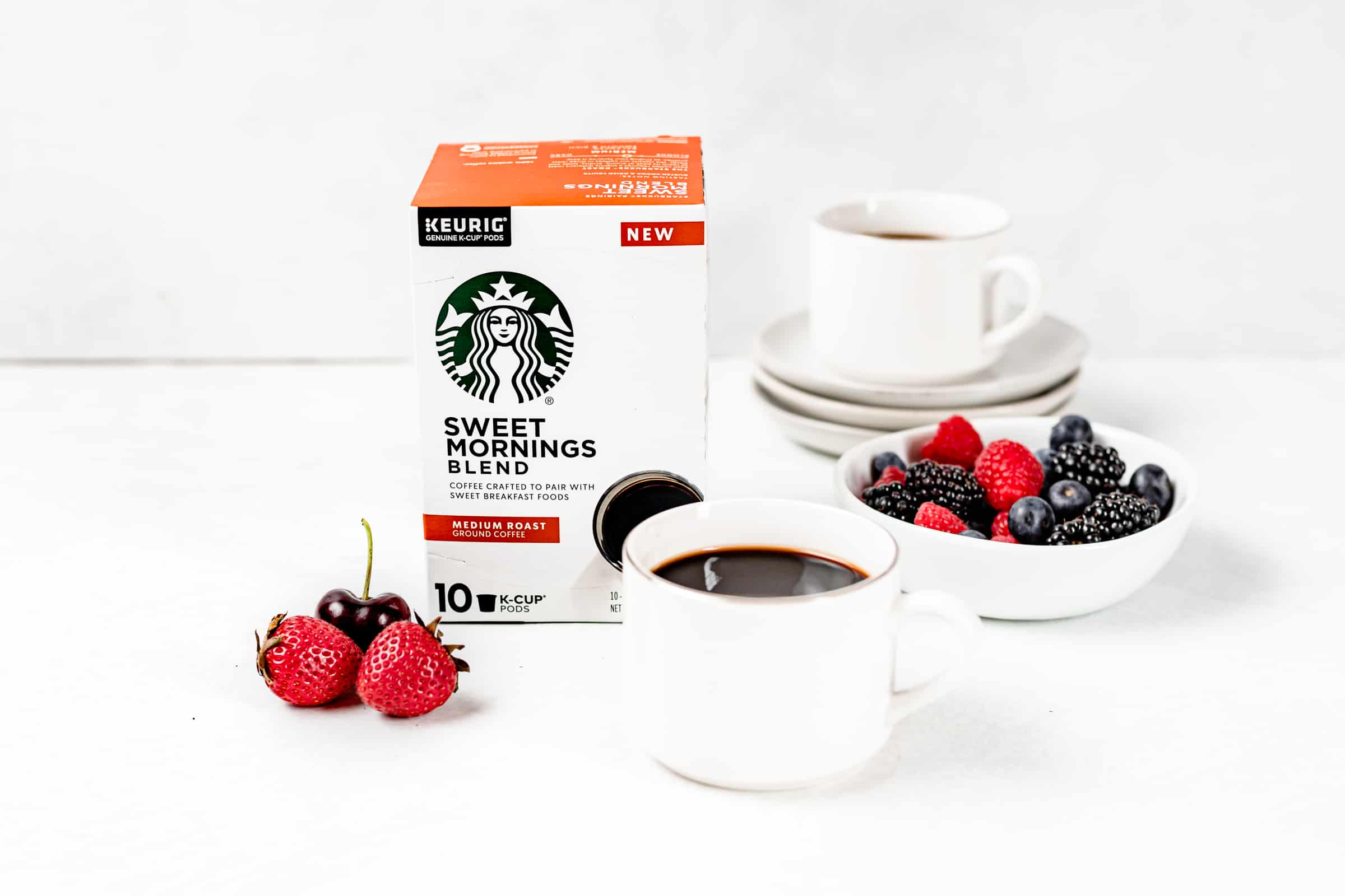 starbucks sweet morning blends coffee