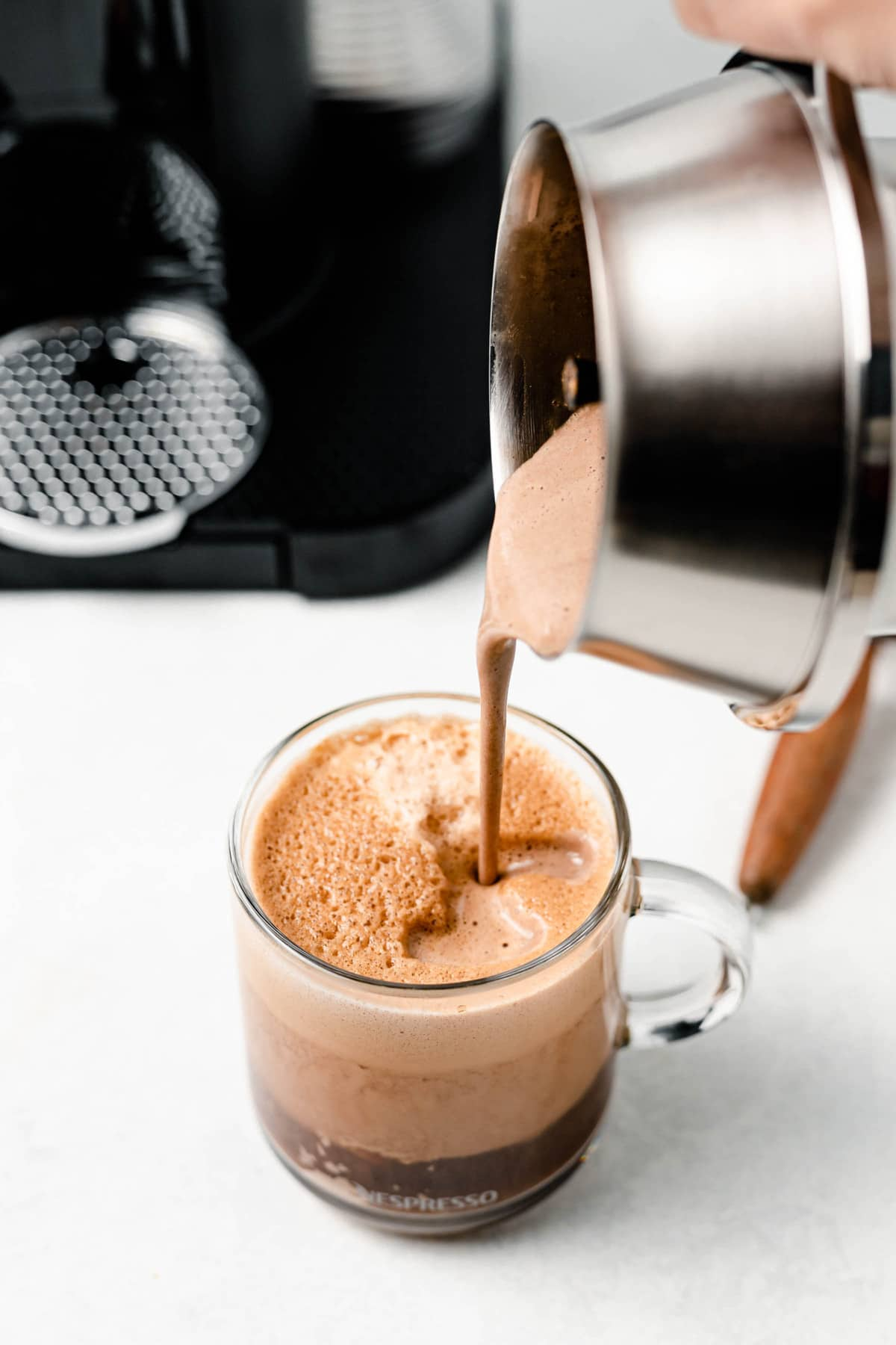 healthy vegan mocha