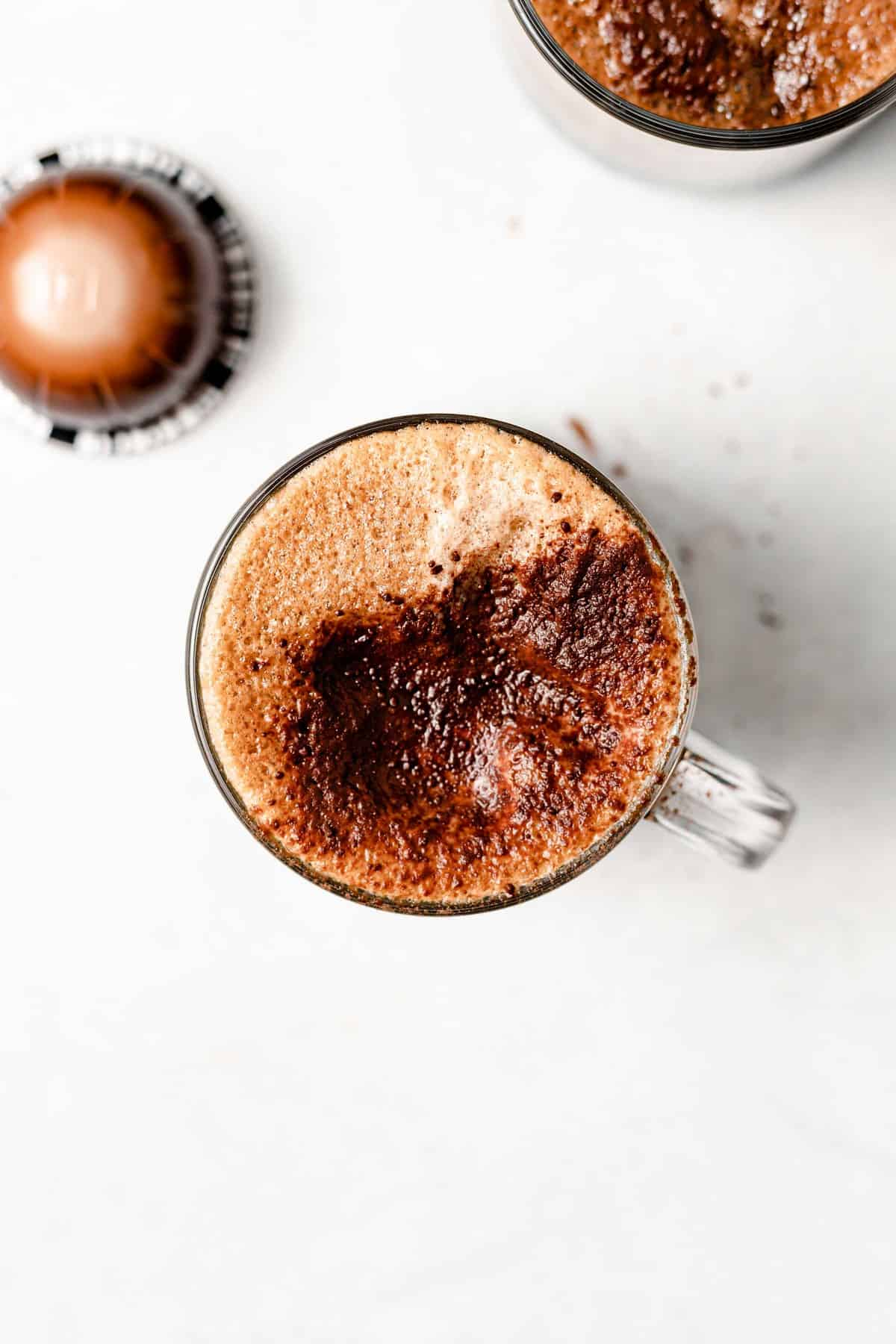 homemade healthy mocha