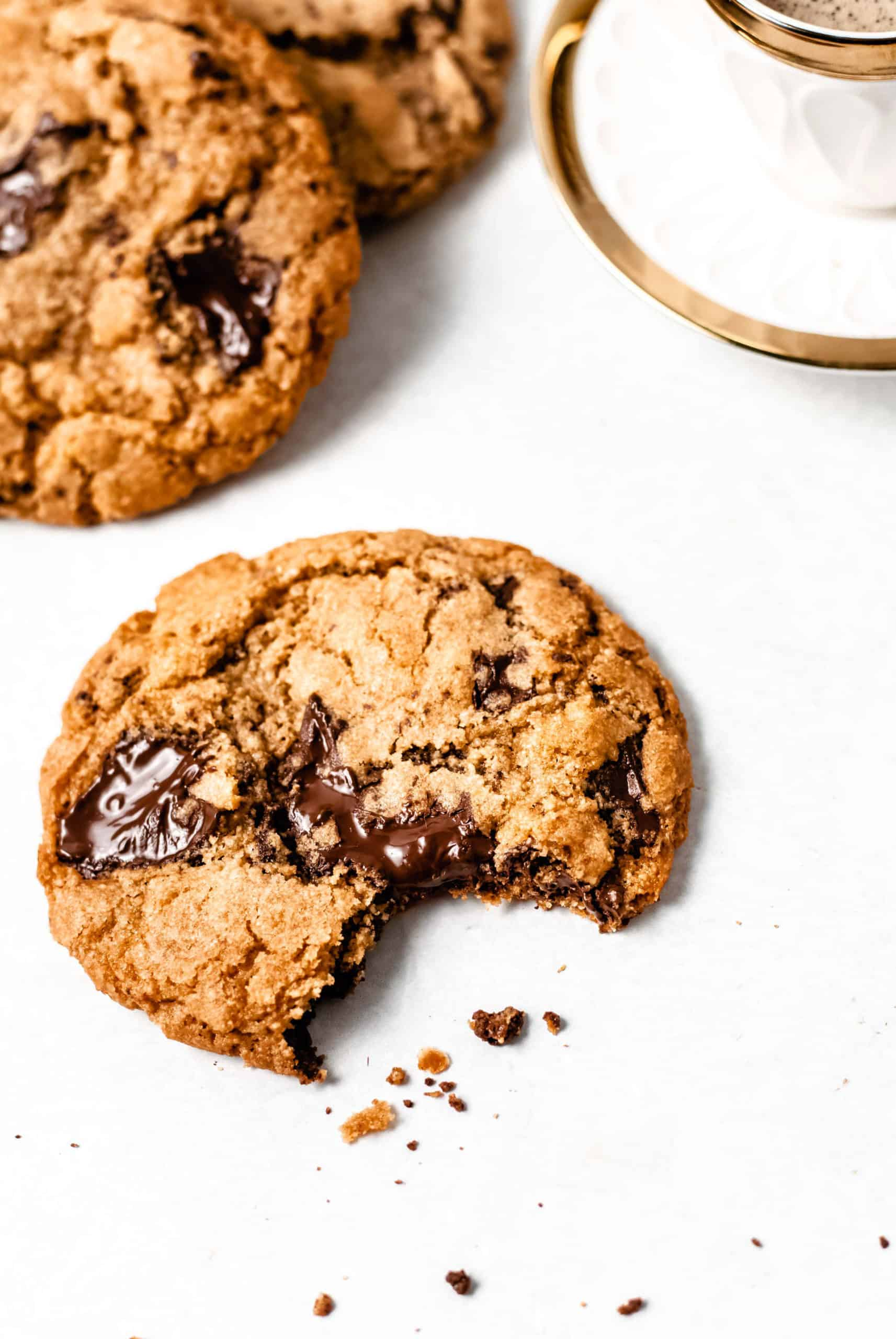 chocolate chip cookie with espresso
