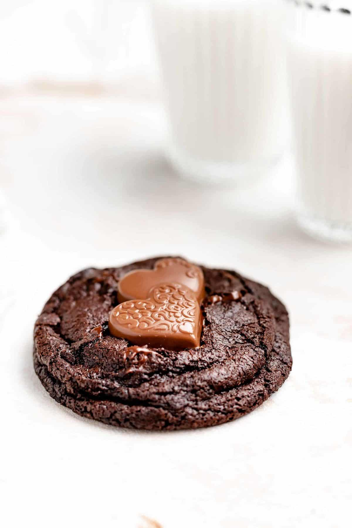 chewy double chocolate cookie