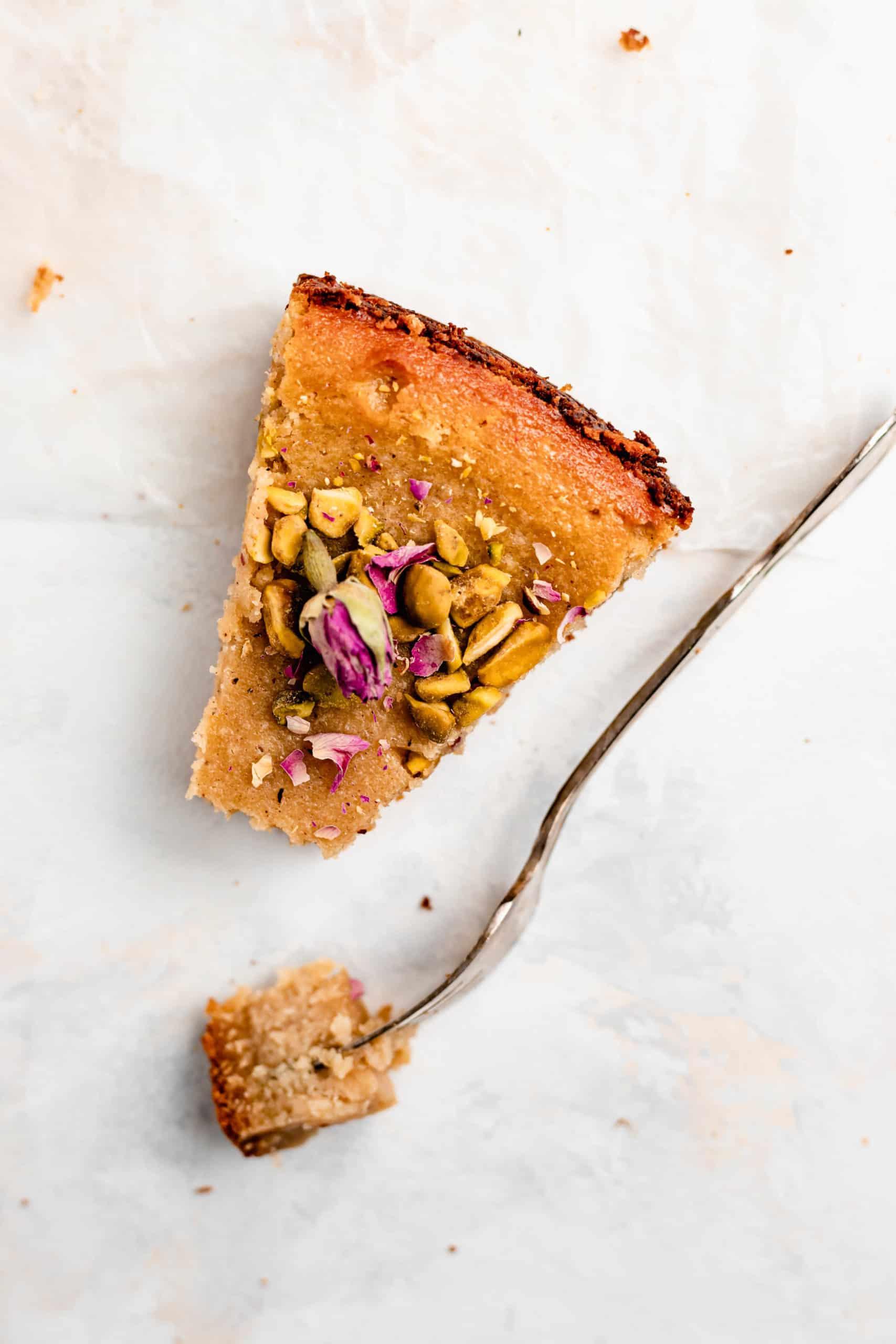 slice of persian love cake