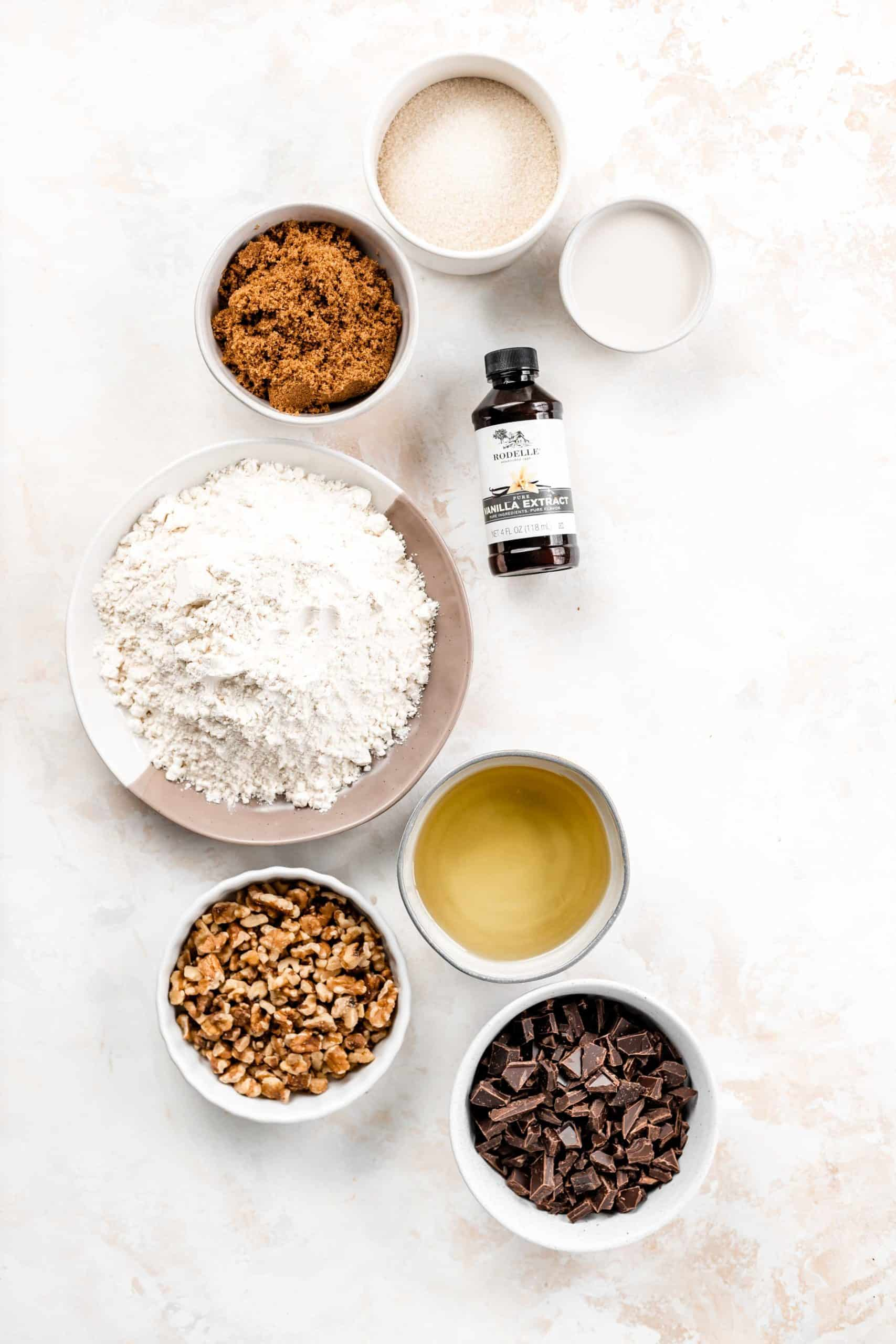 vegan chocolate chip cookie ingredients