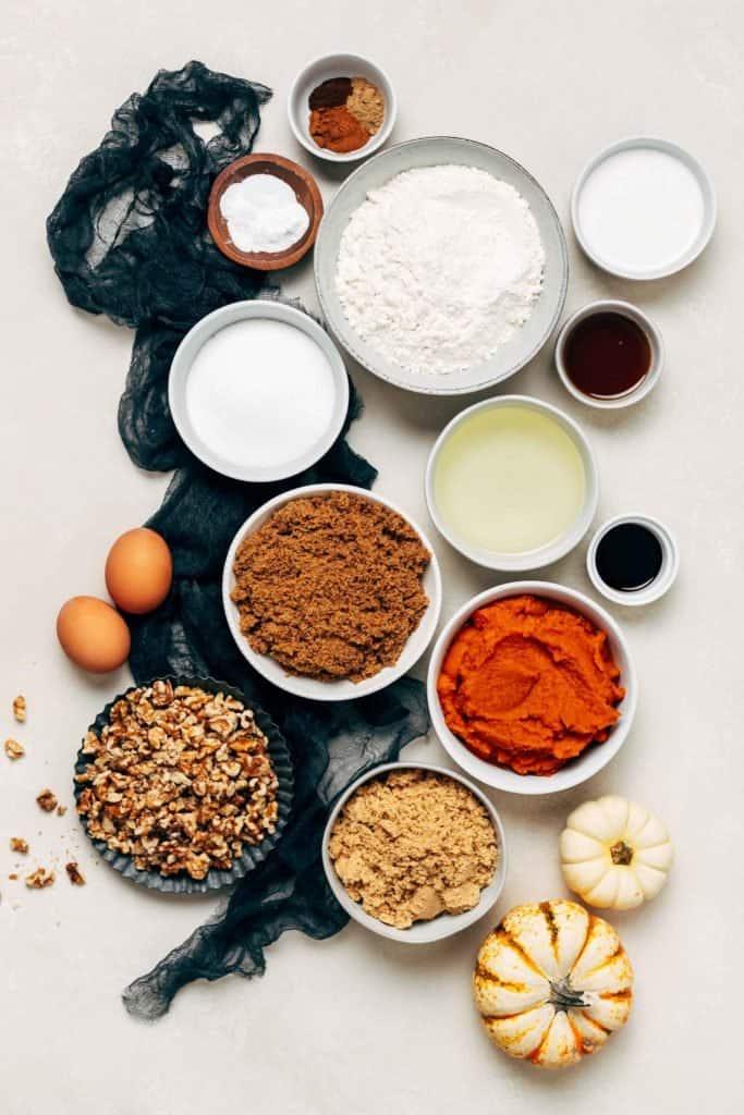pumpkin bundt cake recipe ingredients